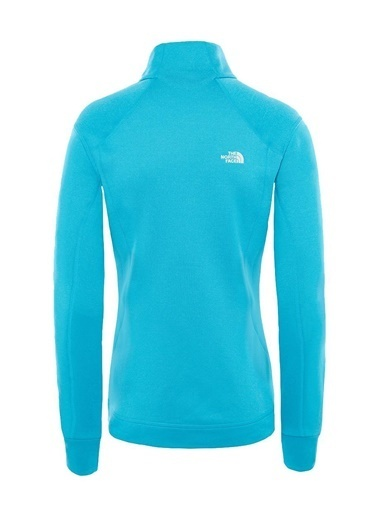 The North Face Impendor Powerdry 1/4 Zip Kadın Mont Mavi Mavi